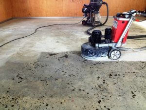 Diamond grinding - Multiblast floor preparation
