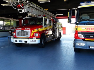 QLD Fire & Rescue Station